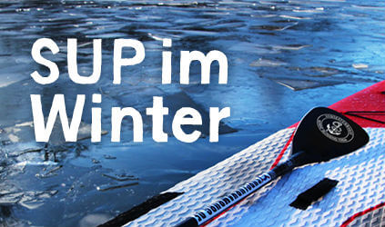 Stand-Up-Paddling im Winter